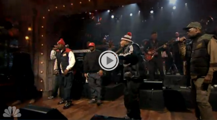Wu-Tang Clan Swarm &#8216;Fallon&#8217;