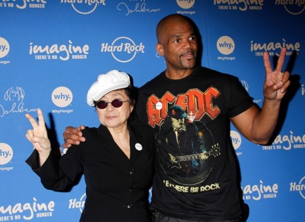 Rolling Stone: Yoko Ono and D.M.C. Team to Fight World Hunger