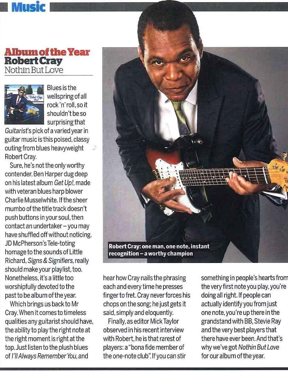 Guitarist Magazine_January 2013_Robert Cray Album of The Year_3
