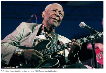 Asbury Park Press:  B.B. King, Robert Cray to play New Brunswick