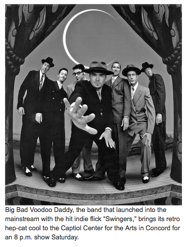 Big Bad Voodoo Daddy swings through Concord
