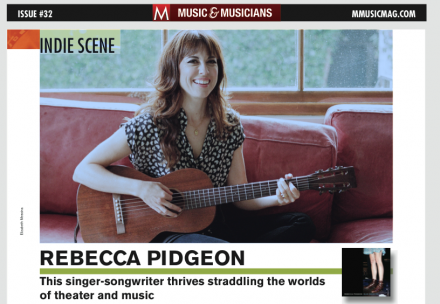 Rebecca Pidgeon: This singer-songwriter thrives straddling the worlds of theater and music
