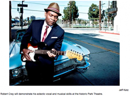 Robert Cray plays Friday in Cranston