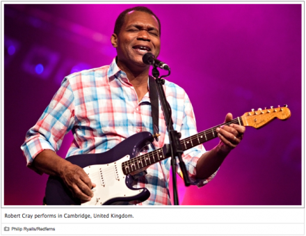 RollingStone: Robert Cray on His New Album and Appearing in 'Animal House'