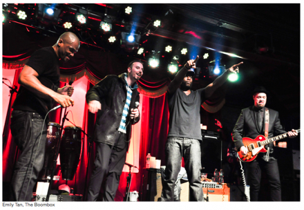 Talib Kweli & DMC Join Forces to Revisit Run-DMC Hits With Soulive [EXCLUSIVE PHOTOS]