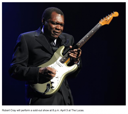 Robert Cray talks past, present, future ahead of SMF show