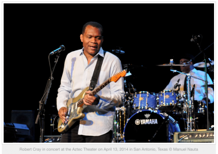 Jamming with Los Lobos and Robert Cray at the Aztec in San Antonio (Review)